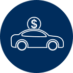 Auto Loans Bubble Icon