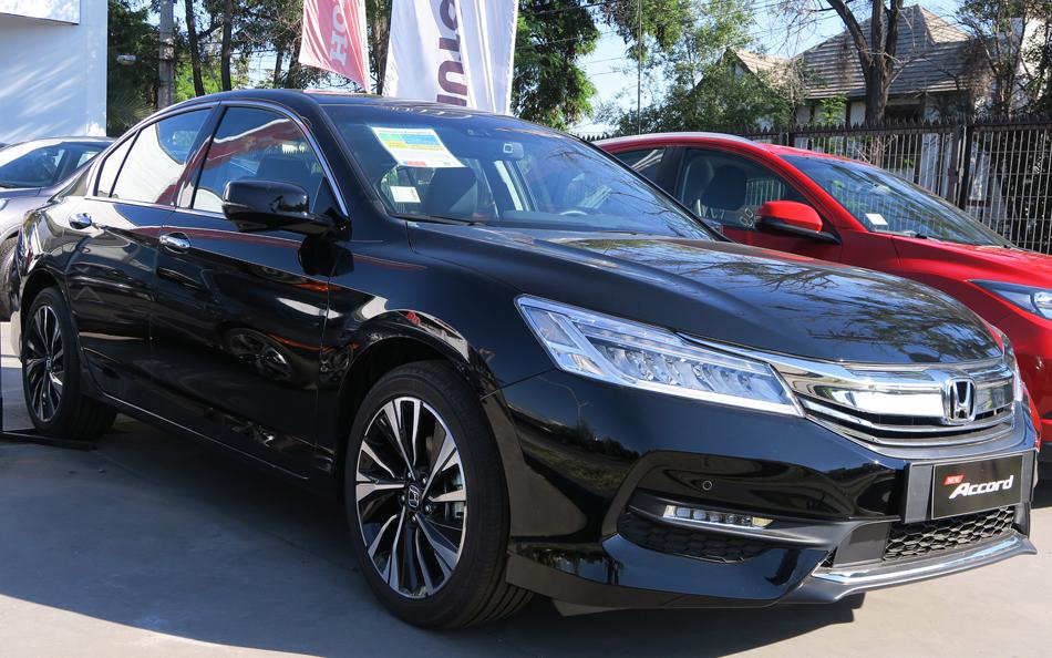 Honda accord family vehicle