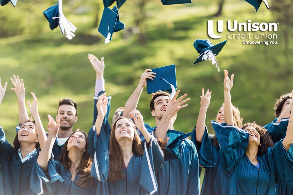 students graduating high school