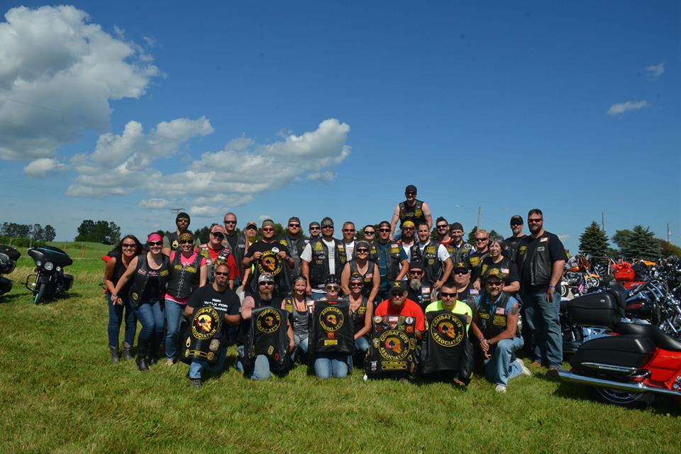 pearly gates veterans ride in green bay wi
