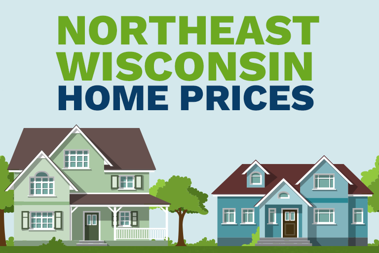 Northeast Wisconsin Home Prices illustration
