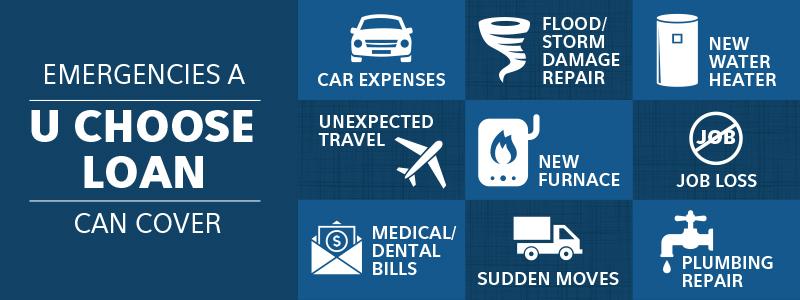 emergencies covered by u choose
