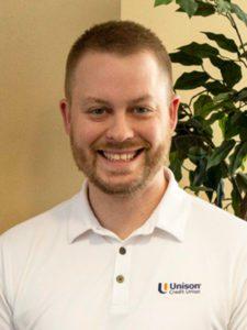 Ryan Rothe, Unison Credit Union Member Advisor