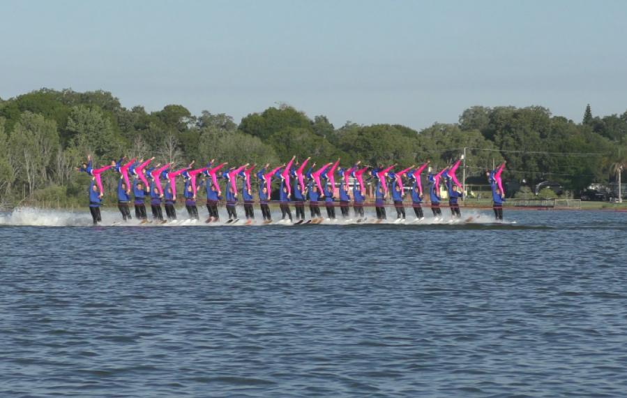 shawno lake water skiing