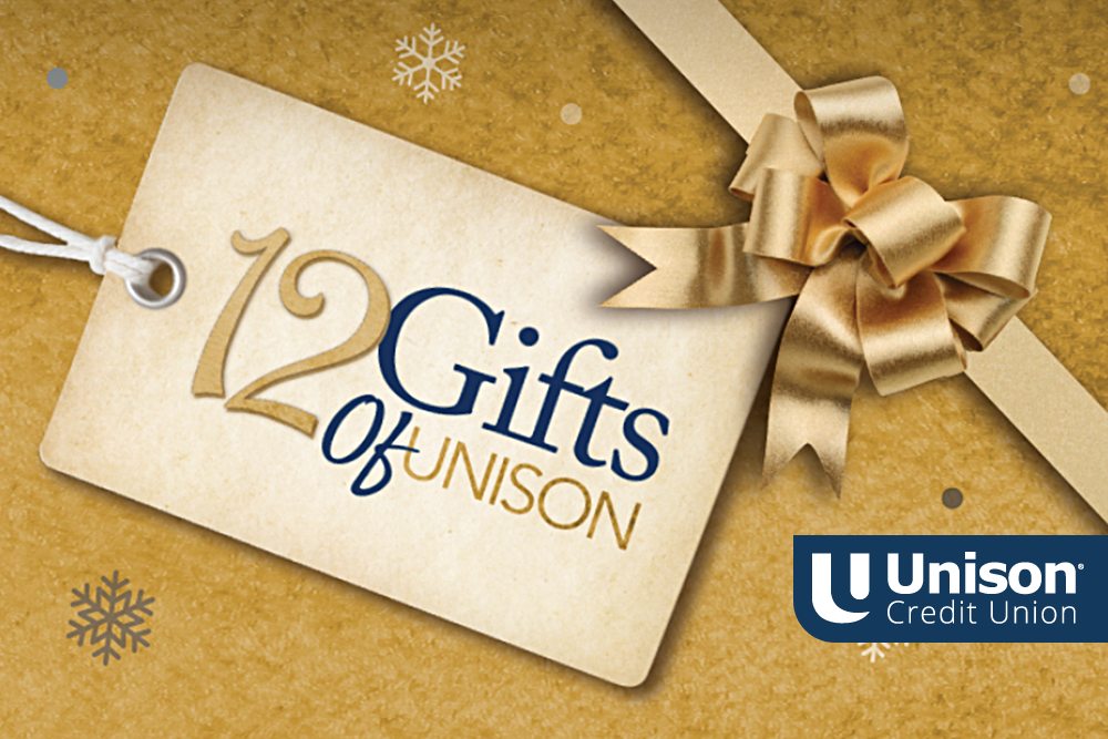 unison 12 gifts of donations 2019