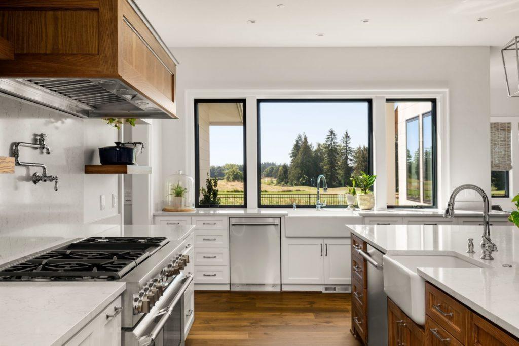 Separate stovetop kitchen