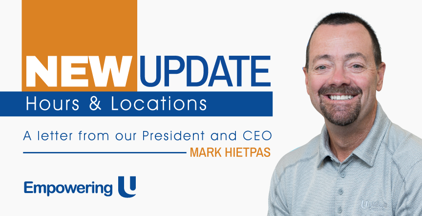 Hours update from Mark Hietpas