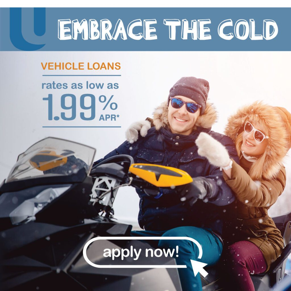 Snowmobile loan ad