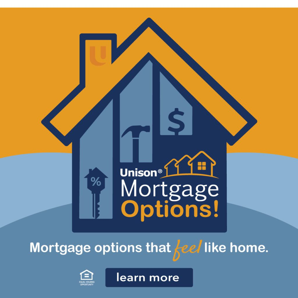 Cartoon house mortgage ad