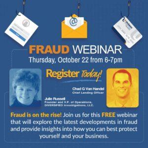 fraud webinar