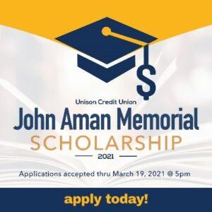 john aman scholarship